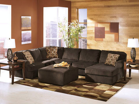 Ashley 6 seat Sectional